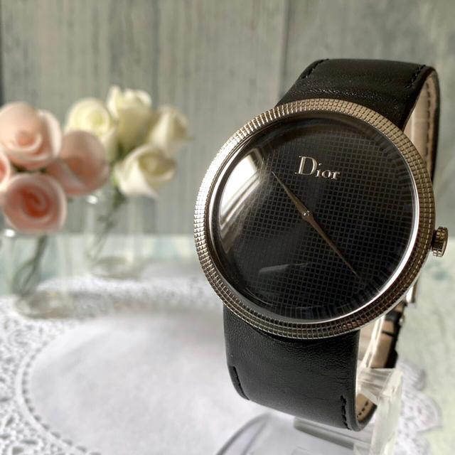 Dior - 【美品】Christian Dior ディオール 腕時計 CD043110の通販 by soga's shop|ディオールならラクマ