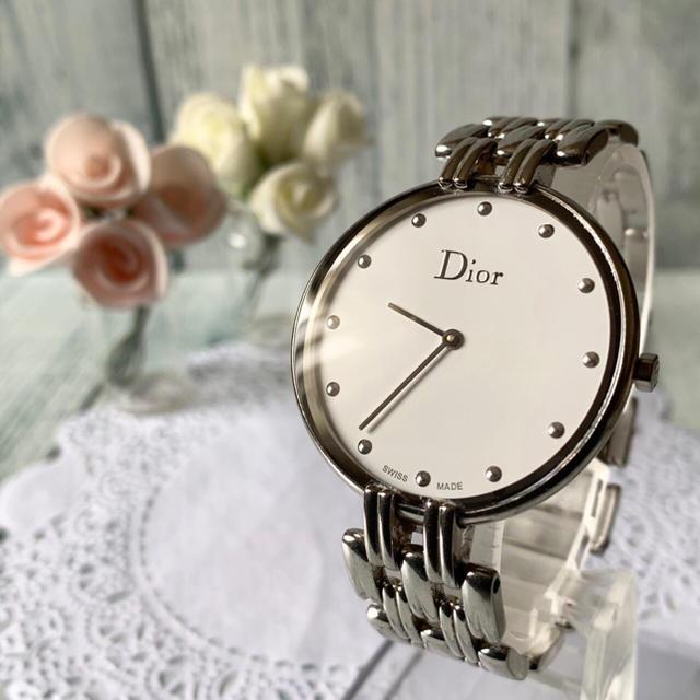 Dior - 【美品】Christian Dior ディオール 腕時計 バギラ シルバーの通販 by soga's shop|ディオールならラクマ