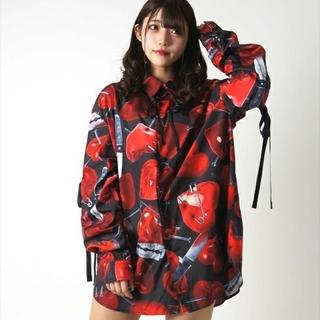 ミルクボーイ(MILKBOY)のTRAVAS TOKYO Emotional scars shirts   (シャツ/ブラウス(長袖/七分))