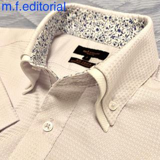 エムエフエディトリアル(m.f.editorial)の半袖 ワイシャツ ビジネスシャツ m.f.editorial(シャツ)