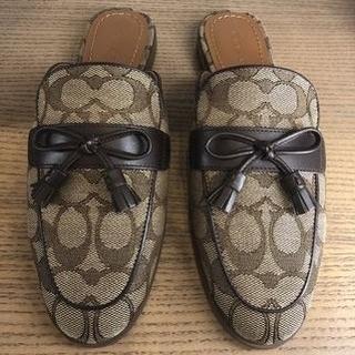 COACH - 【COACH★FG2709】コーチ バンブーサンダル 靴 シグネチャー 新品