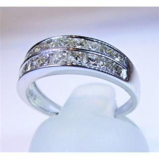 再値下げ※天然ダイヤモンド2連タイプ1.00ctデザインリング(リング(指輪))