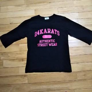 トゥエンティーフォーカラッツ(24karats)の24KARATS七分袖カットソー(Tシャツ/カットソー(七分/長袖))