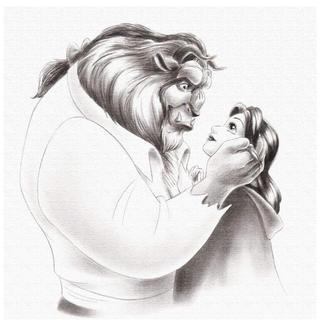 ディズニー(Disney)の美女と野獣 ポスター(ポスター)