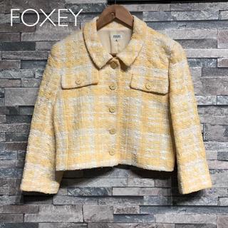 フォクシー(FOXEY)のFOXEY/フォクシー❤️ジャケット❤️(ノーカラージャケット)