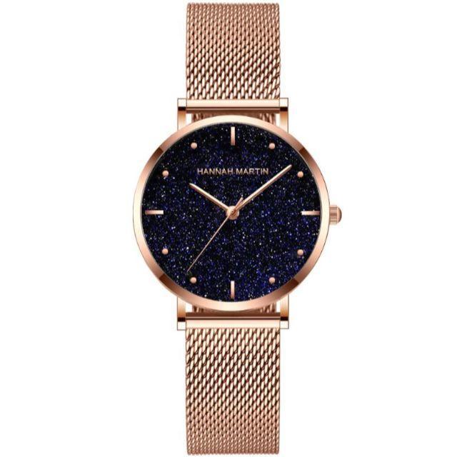レディースアナログ時計 ブラックゴールド 防水ダイヤモンド カジュアル 高級の通販 by しーちや's shop|ラクマ