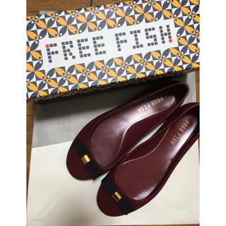 フリーフィッシュ(FREE FISH)のフリーフィッシュ ボワソンショコラ レインパンプス レインシューズ(レインブーツ/長靴)