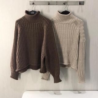 エイチアンドエム(H&M)のチャンキーニット  新品タグ付き  xs(ニット/セーター)