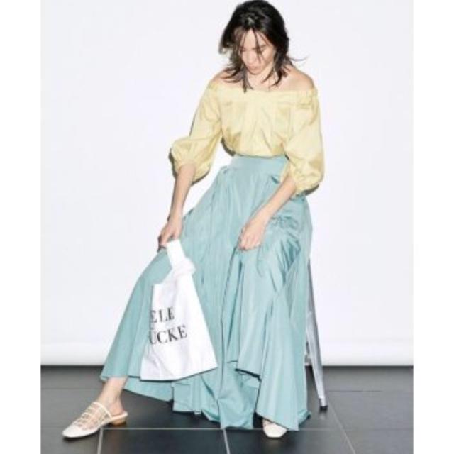 FRAY I.D(フレイアイディー)のfray i.d マチタフタ スカート レディースのスカート(ロングスカート)の商品写真