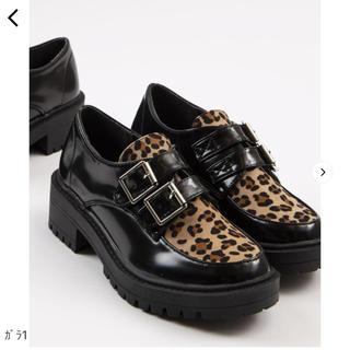 ウィゴー(WEGO)のWEGO ダブルベルトシューズ(ローファー/革靴)