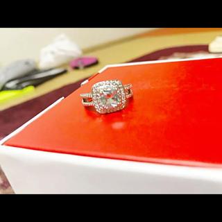 サファイア ダイヤモンドリング 指輪(リング(指輪))