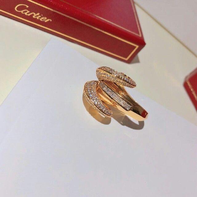 Cartier(カルティエ)のカルティエ 新品未使用 リング K18 レディースのアクセサリー(リング(指輪))の商品写真