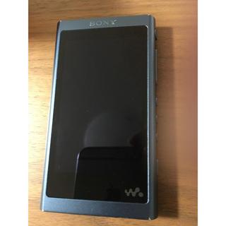 ウォークマン(WALKMAN)のSONY ウォークマン NW-A55 ムーンリットブルー 16GB+128GB(ポータブルプレーヤー)