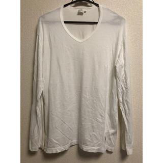 サンスペル(SUNSPEL)のサンスペル  ロングTシャツ 白(Tシャツ/カットソー(半袖/袖なし))