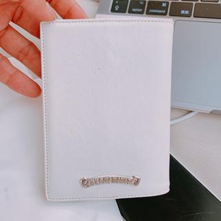 クロムハーツ(Chrome Hearts)の激レア 正規 クロムハーツ パスポートケース 手帳カバー(手帳)