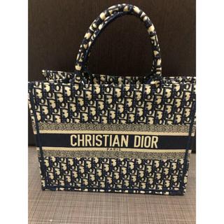 クリスチャンディオール(Christian Dior)の多少値下げOK christian Dior トートバック ブルー(トートバッグ)