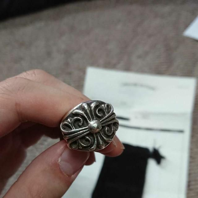 Chrome Hearts(クロムハーツ)のクロムハーツ インボイス付き キーパーリング シルバー SV925 約14号 メンズのアクセサリー(リング(指輪))の商品写真