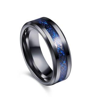 Varanda ドラゴンデザイン指輪 リング メンズ チタンリング 27(リング(指輪))