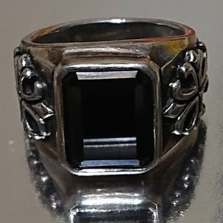 シルバー925オニキスリング(リング(指輪))