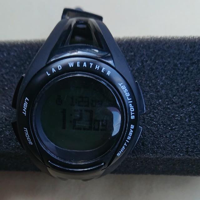 LAD WEATHER ランニングウォッチ GPSの通販 by 7998465's shop|ラクマ
