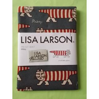 リサラーソン(Lisa Larson)のLisa Larson 麻混生地 Mikey グレー(生地/糸)