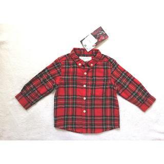 ネクスト(NEXT)のSALE【NEXT】ベビーチェックシャツ(シャツ/カットソー)