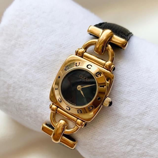 Gucci - 【稼働品】【良品】GUCCI◆ビンテージ◆レディース 腕時計の通販 by Loved_gather⌘|グッチならラクマ