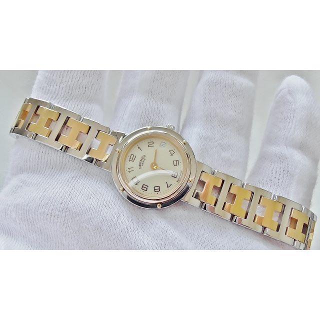 Hermes - HERMES エルメス クリッパー 女性用 クオーツ腕時計 電池新品 B2219の通販 by hana|エルメスならラクマ