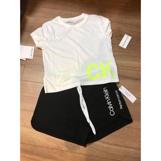 カルバンクライン(Calvin Klein)のカルバンクライン ルームウェア ショートパンツ Tシャツ(ルームウェア)