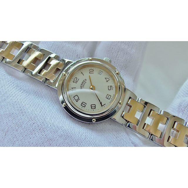 Hermes - HERMES エルメス クリッパー 女性用 クオーツ腕時計 電池新品 B2163の通販 by hana|エルメスならラクマ