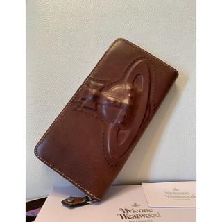 ヴィヴィアンウエストウッド(Vivienne Westwood)の59,400円Vivienne Westwood 3Dオーブ牛革長財布/男女兼用(財布)