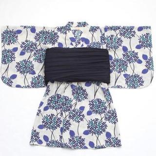 petit main - 美品 petitmain  紫陽花 浴衣