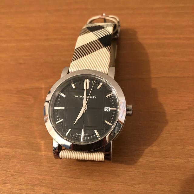 BURBERRY - 【即納】 Burberry バーバリー メンズ 腕時計 レザー チェックの通販 by エミュー's shop|バーバリーならラクマ