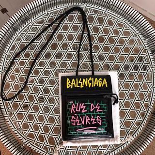 バレンシアガ(Balenciaga)のバレンシアガ サコッシュ 海外限定落書きモデル(ショルダーバッグ)