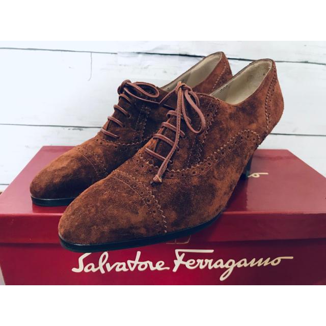 Salvatore Ferragamo(サルヴァトーレフェラガモ)のフェラガモ パンプス 5D 超可愛い 未使用品 レディースの靴/シューズ(ハイヒール/パンプス)の商品写真