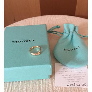 ティファニー(Tiffany & Co.)のティファニー  オープンハートバンド リング(リング(指輪))