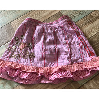 オイリリー(OILILY)のオイリリー♡スカート♡サイズ98♡お魚柄♡美品♡お値下げ(スカート)