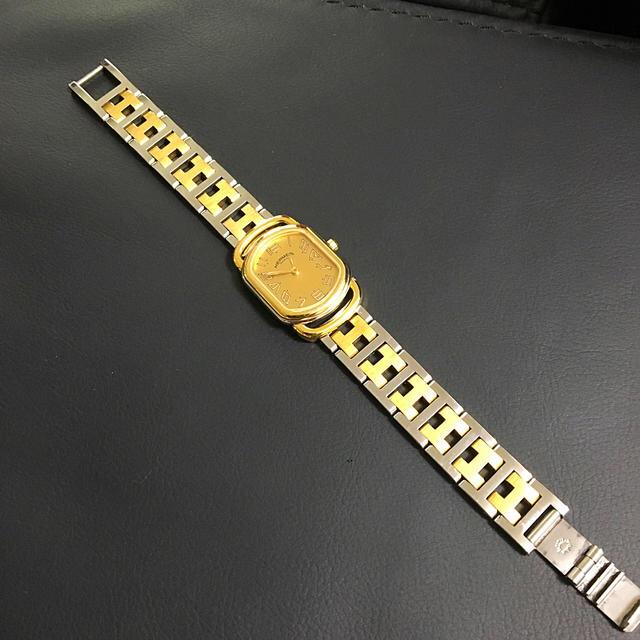 Hermes - エルメス時計✨ラリーコンビゴールドダイアル✨の通販 by ゆきもも's shop|エルメスならラクマ