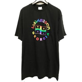 バレンシアガ(Balenciaga)のVETEMENTS 19SS GEORGIA Tシャツ XS 新品(Tシャツ/カットソー(半袖/袖なし))