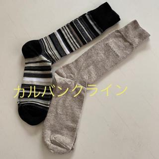カルバンクライン(Calvin Klein)の☆新品☆ カルバンクライン メンズソックス 靴下 2足セット(ソックス)