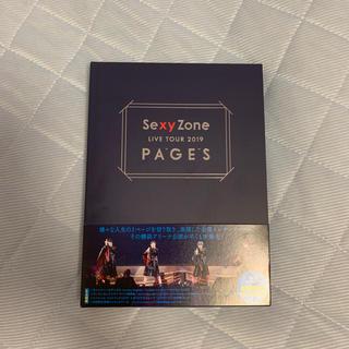 セクシー ゾーン(Sexy Zone)のちゃむ様専用、Sexy Zone LIVE TOUR 2019 PAGES(アイドル)