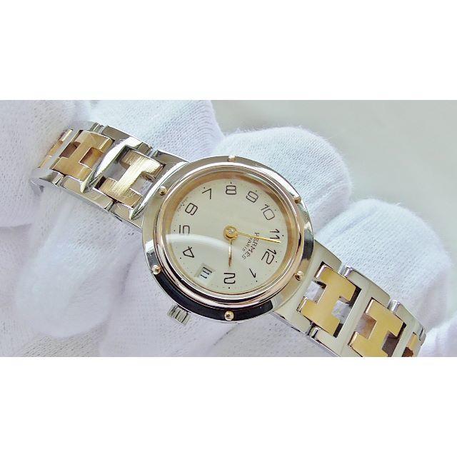 Hermes - HERMES エルメス クリッパー 女性用 クオーツ腕時計 電池新品 B2221の通販 by hana|エルメスならラクマ