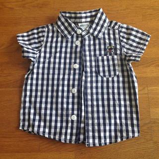 ブリーズ(BREEZE)のBREEZE チェックシャツ サイズ80(シャツ/カットソー)