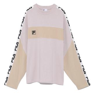 スナイデル(snidel)のFILAロンT(Tシャツ(長袖/七分))