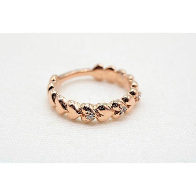 ete(エテ)の【P-982】ete エテ シルバー ダイヤモンド ピンキーリング 指輪 925 レディースのアクセサリー(リング(指輪))の商品写真