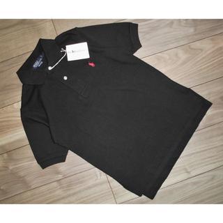 POLO RALPH LAUREN - 新品ラルフローレンPOLO RALPH LAURENカノコポロシャツ黒ブラックS