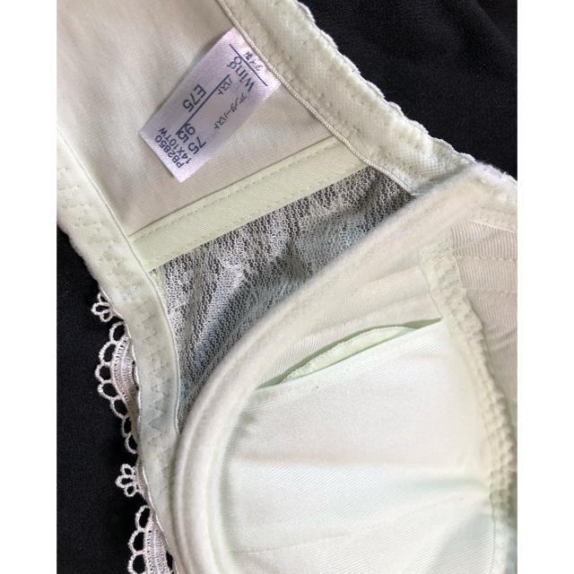 Wacoal(ワコール)のここちゃん様専用♡ワコールブラジャーE75 レディースの下着/アンダーウェア(ブラ)の商品写真