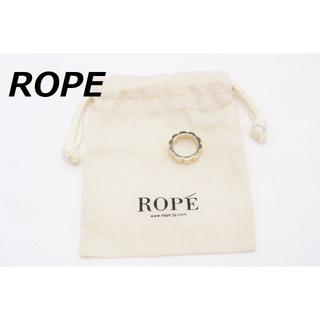 ロペ(ROPE)の【P-996】ROPE' ロペ リング 指輪 14号相当 フラワー デザイン(リング(指輪))