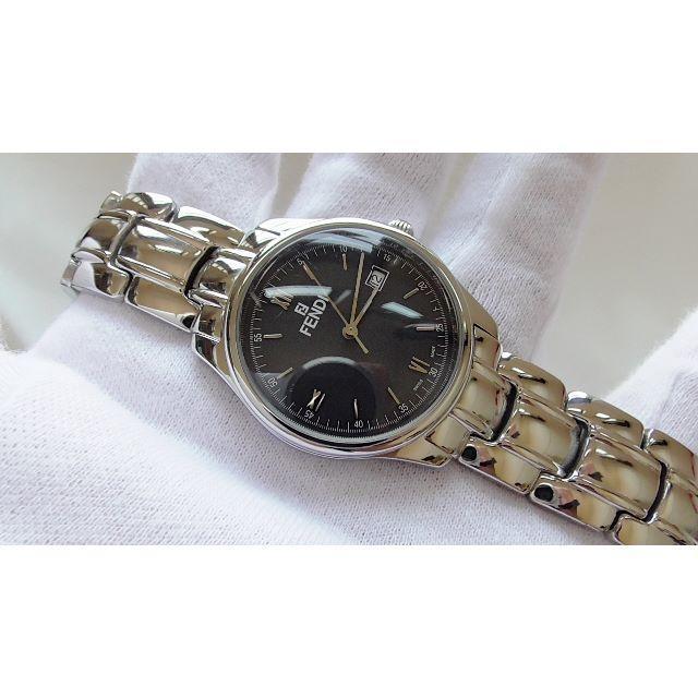 FENDI - FENDI フェンディ 210G 男性用 クオーツ腕時計 電池新品 B2265メの通販 by hana|フェンディならラクマ