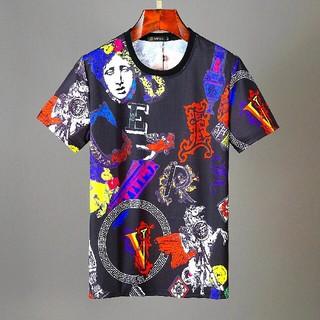 ヴェルサーチ(VERSACE)のVERSACE ヴェルサーチ Tシャツ 男女兼用 L 新品(Tシャツ/カットソー(半袖/袖なし))